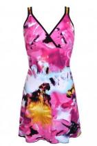 Krátké letní šaty MANILA barevné - RC-Šaty.cz 7eaa4cc918