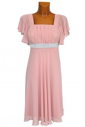 Koktejlové šaty LENA růžové